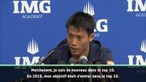 """Pré-saison - Nishikori : """"Revenir dans le Top 5 en 2019"""""""