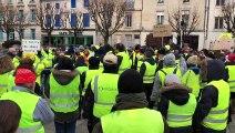 Bar-le-Duc : minute de silence en hommage aux victimes sur les blocages et de l'attentat de Strasbourg