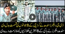 Sindh Rangers employs 8 hockey players from Karachi