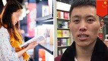 Pria jatuh cinta pada wanita misterius di toko buku - TomoNews
