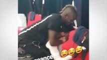 Quand Mario Balotelli attaque Bassem Srarfi à coup de dentifrice