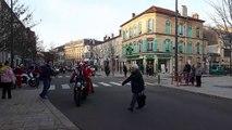Bar-le-Duc : départ des motards du père Noël