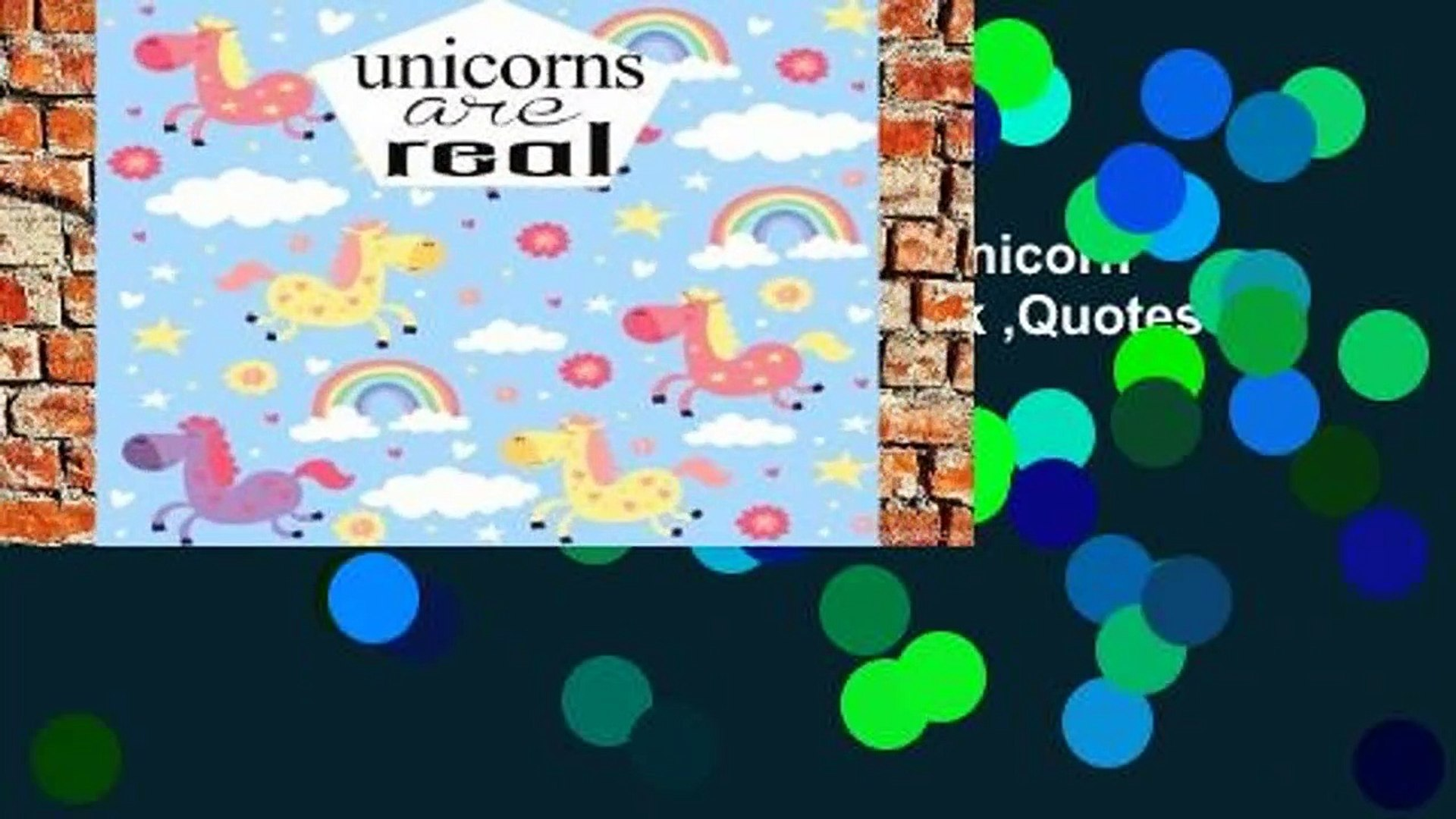 Best product  Unicorns Are Real: Unicorn Journal Notebook Quotes Notebook ,Quotes Journal, Bible