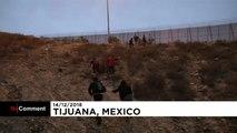 Le quotidien de la frontière de Tijuana