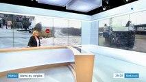 Alerte au verglas : de nombreux accidents dans l'Orne