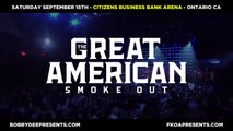"""FKOA Presents Snoop Dogg, Slightly Stoopid, Bone Thugs & Harmony, Cypress Hill, DJ Quik, Berner, Afroman & Warren G Live @ """"The Great American Smoke Out"""", Citizens Business Bank Arena, Ontario, CA, 09-15-2018"""