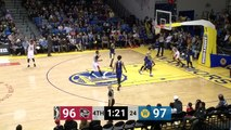 John Gillon (32 points) Highlights vs. Santa Cruz Warriors