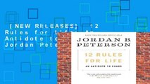 [NEW RELEASES]  12 Rules for Life: An Antidote to Chaos by Jordan Peterson
