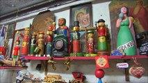 Magie de Noël : les jouets en bois de Michel Muller à Meisenthal