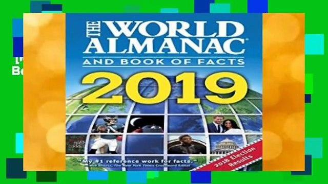 [MOST WISHED]  The World Almanac and Book of Facts 2019 by