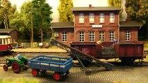 Réseau modulaire avec des locomotives à vapeur et des autorails de Prusse à l'échelle H0 - Une vidéo de Pilentum Télévision sur le modélisme ferroviaire avec des trains miniatures