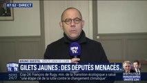 """Le député Bruno Questel (LREM) a été menacé devant son domicile: """"il y a eu six coups de feu de tirés"""""""