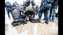 """Marches """"pour"""" et """"contre"""" Marrakech à Bruxelles: une centaine de personnes interpellées"""