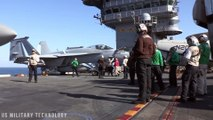 USS John C. Stennis, USS Esse..x Conduct Joint Operations In Middle East