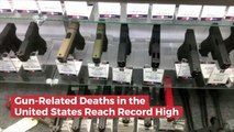 Gun Related Deaths In The United States Are Out of Control