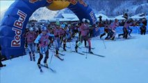 Team Red Bull triumph in extreme winter sports Rise and Fall race