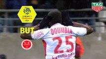 But Moussa DOUMBIA (6ème) / Stade de Reims - RC Strasbourg Alsace - (2-1) - (REIMS-RCSA) / 2018-19