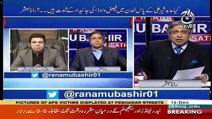 Abid Sher Ali Ke Faisal Vawda Ke Khilaf Allegation Kitne Sache ? Rana Mubashir's Response