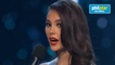 Catriona Gray at Miss Universe Q&A portion
