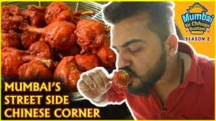 This Place In MUMBAI Serves The BEST Chinese Food - Mumbai Street Food - S2 Ep9- MKCR