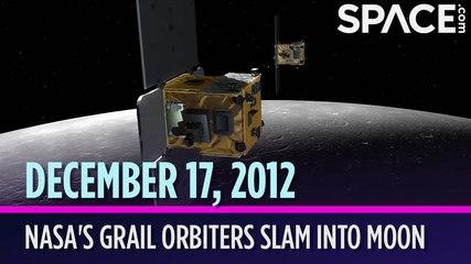 OTD in Space - Dec. 17: NASA's GRAIL Orbiters Slam into the Moon
