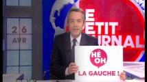 """""""Le Petit Journal"""" ridiculise en musique du slogan """"Hé oh la gauche"""""""