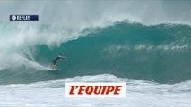 La vague de 8,83 de Joan Duru face à Tomas Hermes au Pipe Masters 2018 - Adrénaline - Surf