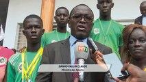 Sport: cérémonie de récompense des athlètes et encadreurs ivoiriens