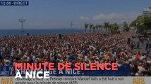 Nice : minute de silence en hommage aux victimes