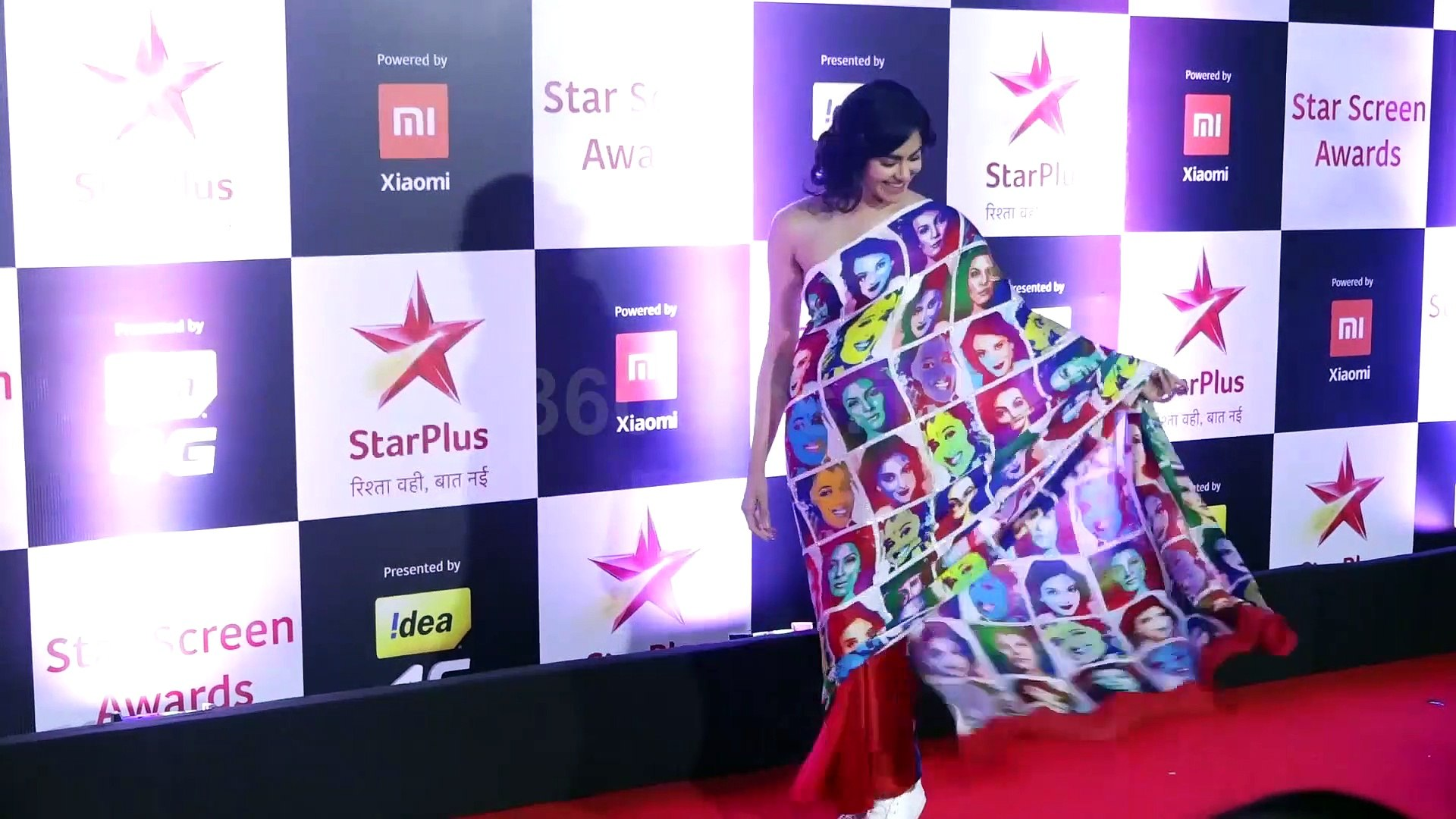 Aayush Sharma, Adah Sharma and Others Attend Star Screen Awards 2018