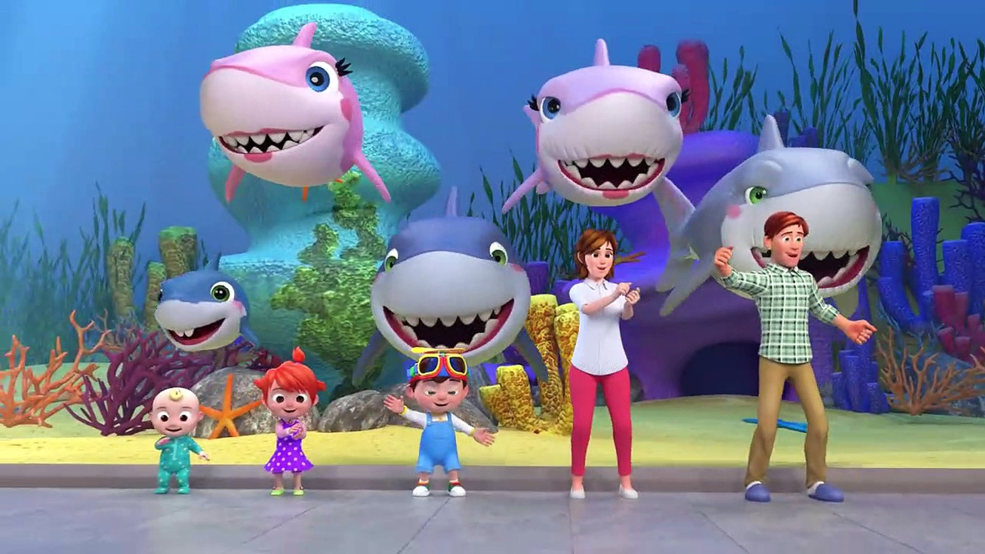 Baby Shark Cocomelon Abckidtv Nursery Rhymes Kids Songs Video Dailymotion