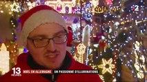 Noël : en Allemagne, un passionné d'illuminations ouvre les portes de sa maison