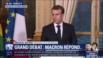 Emmanuel Macron n'ira pas à Biarritz demain pour préparer le grand débat