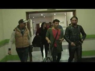 وصول الفنان سعد الصغير الي مطار بغداد الدولي