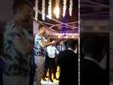 حسين غاندي مولع فرح احمد المرغني مع جنش وحازم امام نجوم الزمالك
