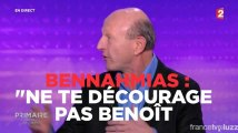 """Bennahmias : """"Ne te décourage pas Benoît"""""""