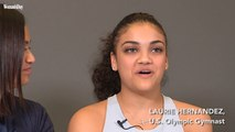 Laurie Hernandez Talks About Being Grateful For Her Mother