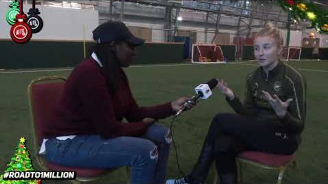 Leah Williamson Is One Of Our Own! Pippa Monique Catches Up With Arsenal Ladies!