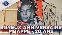Happy birthday Kylian Mbappé