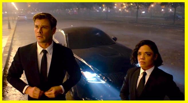 MEN IN BLACK: INTERNATIONAL | Official Trailer-  Chris Hemsworth, Tessa Thompson, Liam Neeson, Emma Thompson