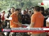Polisi Gelar Reka Ulang Pengeroyokan Anggota TNI