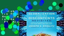 Globalization and Its Discontents Revisited: Anti-Globalization in the Era of Trump  For Kindle