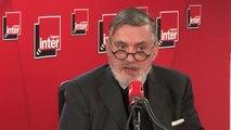 """François Sureau revient sur le langage de la technocratie actuelle : """"C'est un langage de maboule, une langue invraisemblable """""""