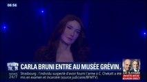 La statue de cire de Carla Bruni retrouve celle de Nicolas Sarkozy au musée Grévin