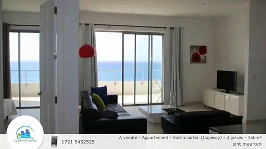 A vendre - Appartement - Sint maarten (Cupecoy) - 3 pièces - 156m²