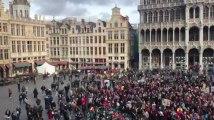 Les supporters des Red Lions sur la Grand-Place de Bruxelles 2