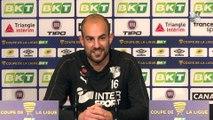 Avant  le match Amiens SC - Olympique Lyonnais : Matthieu Dreyer