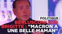 """Berlusconi : """"Macron a (pour épouse) une belle maman, qui l'a porté au bras quand il était petit"""""""