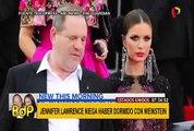EEUU: Jennifer Lawrence desmiente que se acostara con Harvey Weinstein