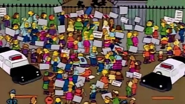 The Simpsons S02E09 Itchy and Scratchy and Marge